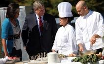 Tổng thống Obama đưa cả đầu bếp Nhà Trắng sang châu Á