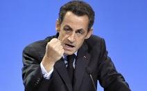 """Bóng ma đại tá Gaddafi """"ám"""" cựu tổng thống Pháp"""