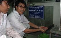 Niềm đam mê với nước sạch