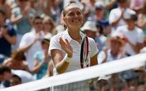 Kvitova đối đầu Bouchard ở chung kết Wimbledon