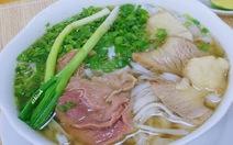 Phở là món ăn sáng phổ biến của người Việt
