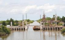 Lo ngại lãng phí công trình thủy lợi