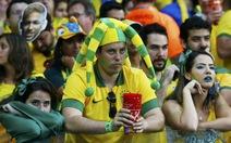 """Nhiều CĐV Brazil """"tâm phục, khẩu phục"""" tuyển Đức"""