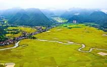 Sững sờ ngắm thung lũng lúa Bắc Sơn đẹp như tranh