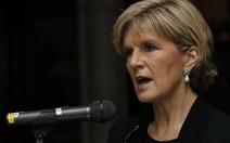 Ngoại trưởng Úc khẳng định sẽ đương đầu với Trung Quốc