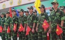 """""""Học kỳ trong quân đội"""" cho con em cán bộ, công nhân TP.HCM"""