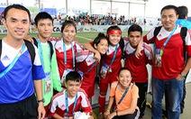 Việt Nam dự giải Football for Hope ở Brazil
