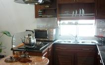 Nới rộng không gian bếp trong ngày hè