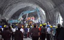 Sập đường hầm ở Trung Quốc, 15 người mắc kẹt
