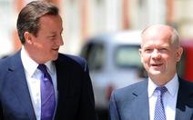 Anh cải tổ nội các, Ngoại trưởng William Hague từ chức