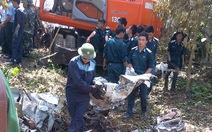 Thêm một chiến sĩ vụ rơi máy bay tại Hòa Lạc hi sinh