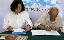 Ký kết tác quyền trọn đời với nhà văn Trang Thế Hy