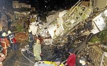 Máy bay rơi ở Đài Loan: Tìm thấy hộp đen thứ nhất