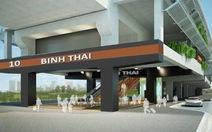Xây dựng nhà ga metro Bình Thái