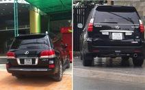 2 xe bạc tỉ chung biển số:  Lexus LX 570 xài biển số giả