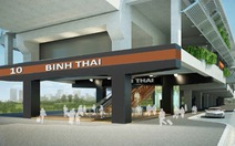 Xây nhà ga metro Bình Thái