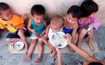 2,2 triệu trẻ em Việt Nam suy dinh dưỡng thể thấp còi