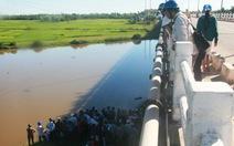 Phát hiện xác nam thanh niên chết trôi trên sông Bàn Thạch