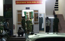 Cảnh sát khám xét đội kiểm lâm cơ động số 1 Thanh Hóa