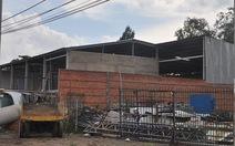 Doanh nghiệp xây gần 600m2 nhà kho trái phép