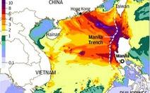 Cảnh báo động đất 8 độ richter, sóng thần trên biển Đông