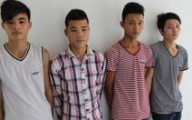 Bắt giam 4 thanh niên dùng xăng đốt nhà