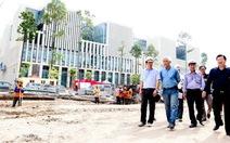 Bộ trưởng Xây dựng thị sát công trình nhà Quốc Hội