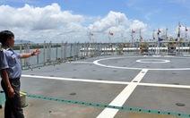 Tàu kiểm ngư hiện đại nhất Việt Nam về đến Vũng Tàu