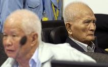 2 thủ lĩnh Khmer Đỏ ở tù suốt đời