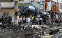Rò rỉ khí đốt, thành phố Cao Hùng lại di tản dân