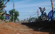 Bộ GTVT yêu cầu chấn chỉnh thi công đường làm khổ dân