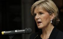 Ngoại trưởng Úc bị nghe lén điện thoại di động