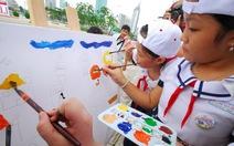 Khai mạc Hội trại sáng tác tranh thiếu nhi hè 2014