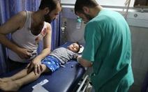 """Trẻ em Gaza """"không còn nơinàoan toàn"""""""