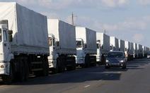 Nga đơn phương đưa đoàn xe cứu trợ vào Ukraine