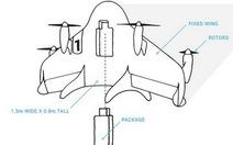 Google thử nghiệm máy bay vận chuyển hàng hóa