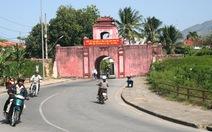 Thành cổ Diên Khánh thành phố đi bộ