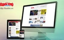 Tuổi Trẻ Online áp dụng giao diện tùy ứng
