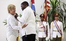 Cuba trao huân chương cho VĐV Mỹ