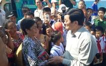 Chủ tịch nước thăm ngư dân đảo Thổ Châu