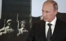 Ông Putin kêu gọi Ukraine và quân ly khai ngừng bắn
