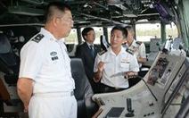 Trung Quốc, Singapore tập trận trên biển Đông