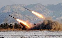 Triều Tiên phóng 3 tên lửa rơi xuống biển Nhật Bản