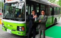 Isuzu thử xe buýt chạy vi tảo đầu tiên