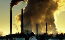 Lượng khí CO2 thải vào khí quyển tăng kỷ lục trong năm 2013