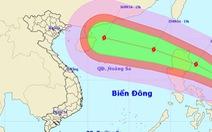 Bão Kalmaegi giật cấp 15-16 khi vào biển Đông