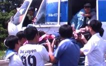 Cấp cứu lính hải quân đảo Thổ Châu bằng trực thăng