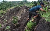 Sụt lún đất lớn cạnh lòng thủy điện Đồng Nai 2
