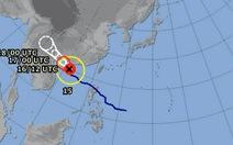 Trưa nay tâm bão vào vùng biển bắc vịnh Bắc bộ