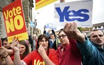 Người Scotland bỏ phiếu tìm độc lập